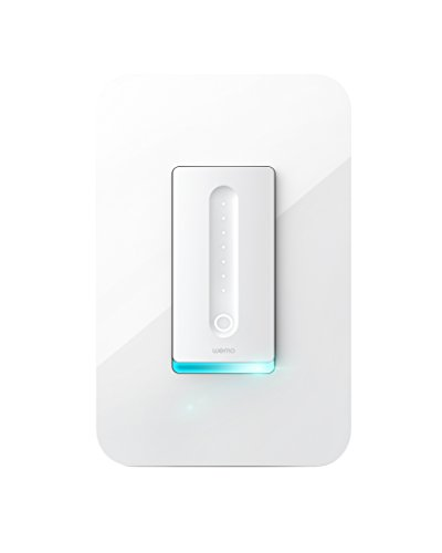 WeMo (F7C059) Dimmer Wifi Light Switch, Works with Alexa, the Google Assistant and Apple Homekit