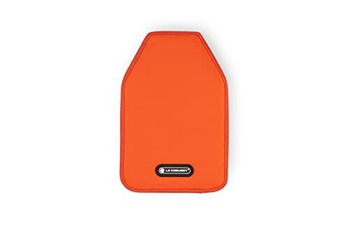 Le Creuset WA126 Funda enfriadora para Botellas de Vino o Cava, Tejido Impermeable, Naranja (Volcánico)