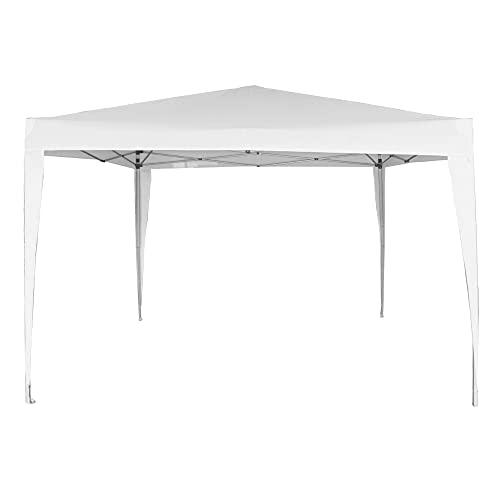 AKTIVE 62187 - Cenador plegable blanco poliéster UV50 300x300x240 cm AKTIVE Beach