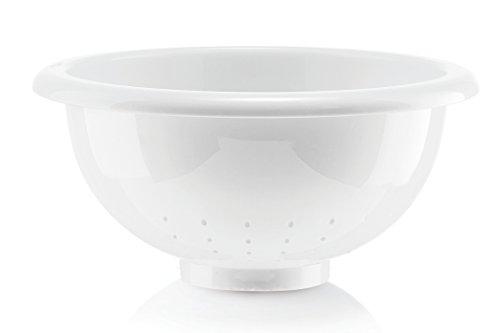 Guzzini Forme Casa 278050-11 Colapasta, Plastica, Bianco, Diametro 28 cm