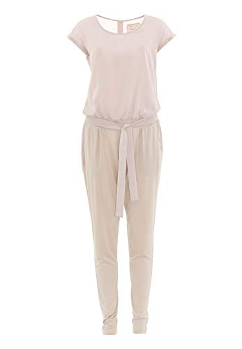 DAILY`S NOTHING`S BETTER BY S. W. B. Jolyn: Jumpsuit im Materialmix, Color:Sand, Size:XXL