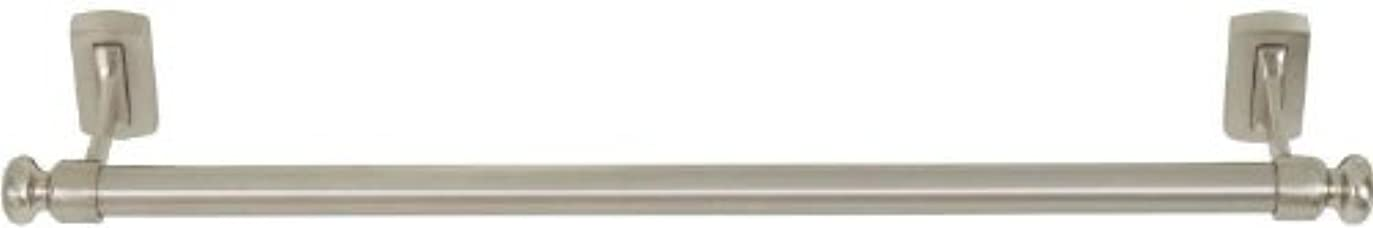 架空の腹接ぎ木Atlas Homewares LGTB18-BRN Legacy Collection 18-Inch Towel Bar, Brushed Nickel Atlas [並行輸入品]