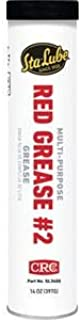 CRC/Marykate SL3400 RED GREASE #2 / RED GREASE #2 14 OZ CARTRIDG