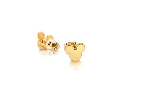 orecchini in oro bambina Disney Couture Kingdom - Orecchini a perno placcati oro 14 kt