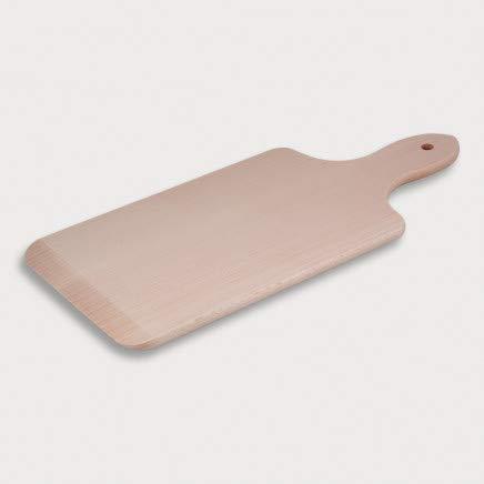 HOFMEISTER® Spätzlebrett Holz, 35 cm, rechteckiges Nudelbrett aus Buche, für traditionellen Spätzle-und Nudelteig, einfach Teig kneten und in den Kochtopf schaben, Made in EU