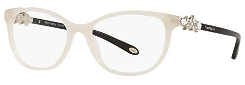 Price comparison product image Tiffany & Co. TF 2144-HB Eyeglasses for Women Prescription Frame (Opal Ivory 8251,  52)