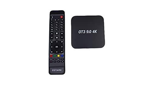 Ostark OT3 9,0 4K Android 9.0 TV Box 2g+16g Receptor Stalker IP TV Reproductor Multimedia Internet amlogic S905X3 Soporte Bluetooth