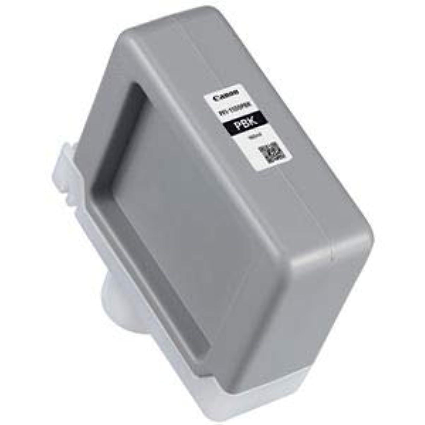 数学的な愛バルクキヤノン インクタンクPFI-1100PBK フォトブラック 160ml 0850C001 1個