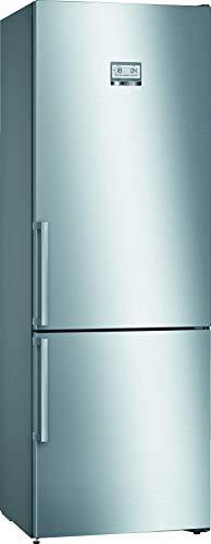 Bosch KGN49AIDP Serie 6 Réfrigérateur congélateur autoportant XXL D 203 x 70 cm 207 kWh/an Inox anti-traces de doigts 330 l Partie congélateur 108 l NoFrost VitaFresh plus