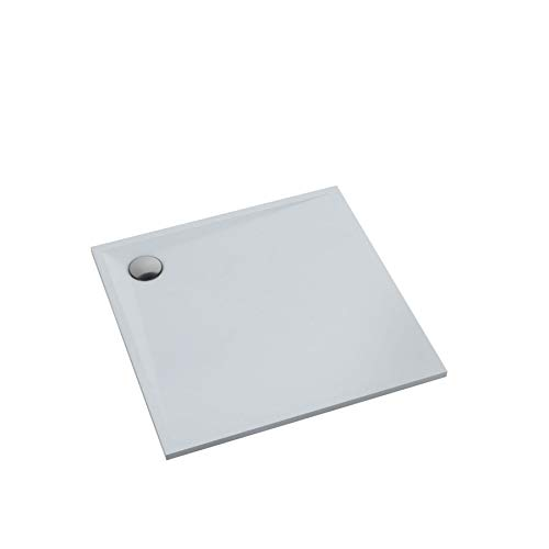 Duschtasse Duschwanne Acrylwanne Acrylschürze Stabilsound® inkl. Träger Antirutsch 90x90 x3cm