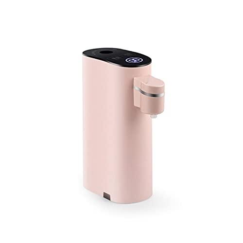 GDYJP 1 Set 220V Agua de calefacción instantánea de 220V, Bomba de Botella de Agua eléctrica dispensadora, Botella de Consumo de Calor rápido portátil, Oficina Interior al Aire Libre (Color : Pink)
