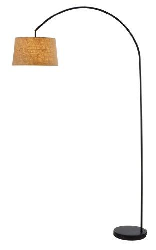 Adesso 5098-22 Goliath Arc Lamp, Black