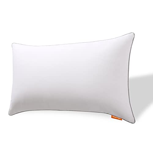 Sweetnight Pillow Bed Pillow for Neck Pain Sufferers-100% Cotton Fabric...