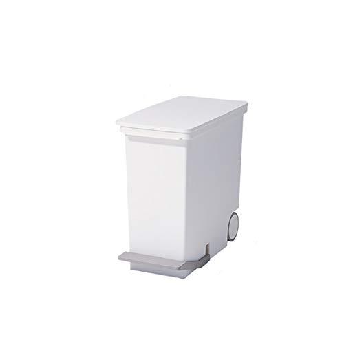 Yuzhijie Importierter Mülleimer mit breitem Gesicht, für Haushalt, Wohnzimmer, Küche, Papierkorb, umweltfreundlich, 25 l