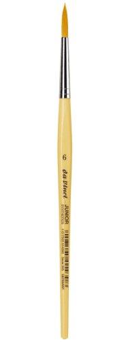 daVinci GH3036 Junior Synthetics Malerpinsel, rund Serie 303, Größe 6
