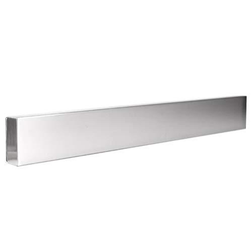 Hemoton Magnet knivhållare rostfritt stål kniv bar kniv hylla köksredskap hållare vägghängande hylla för hem restaurang (36 cm)