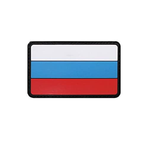 Copytec 3D Patch Russia Russland Russische Föderation Fahne Flagge Moskau 8x5cm#37009