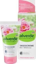 alverde NATURKOSMETIK Tagespflege Bio-Wildrose, 1 x 50 ml