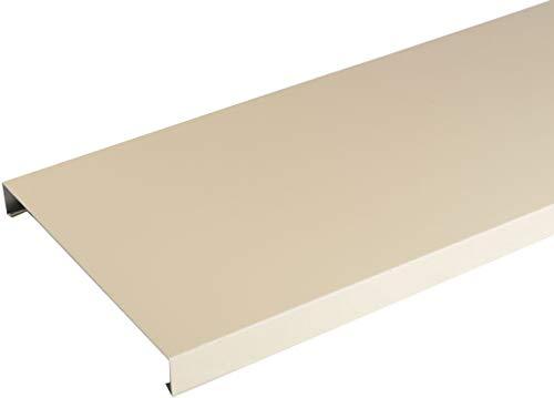 Couvertine aluminium 1 mm Sable RAL 1015-2 mètres - 200 mm