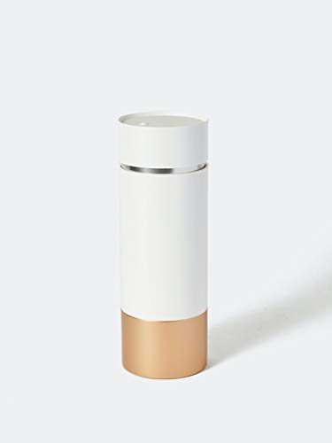 Brushean Makeup Brushes UV Sanitizer (Standard, White/Rose Gold)