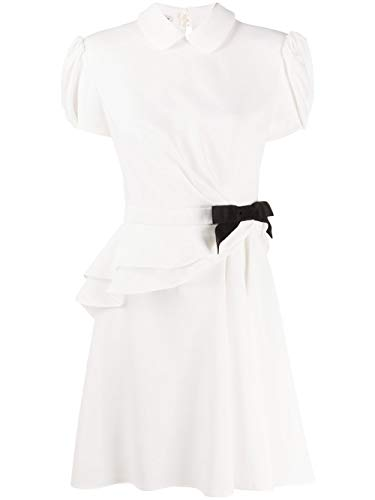 Miu Miu Luxury Fashion Damen MF35224KTF0K74 Weiss Acetat Kleid | Frühling Sommer 20