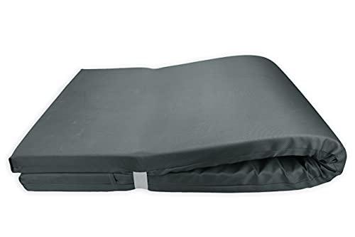 Colchón para Tumbona Impermeable. Cojín 180x60x6 Desenfundable, Cómodo y Elegante. Ideal para...