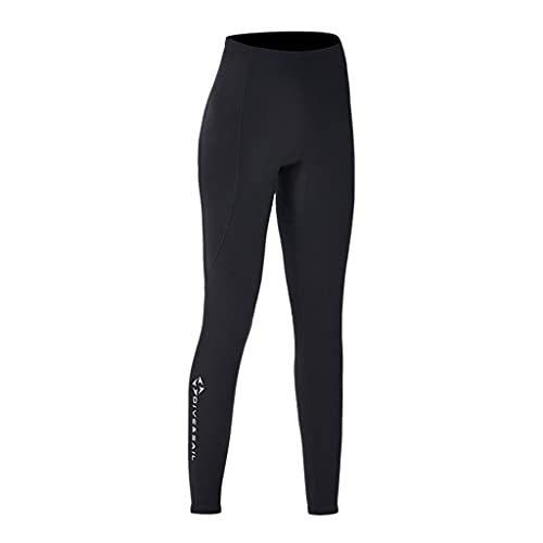 Milageto 2mm Diving Wetsuit Pants Pants Keep Warm Swimwear Canoeing Pants for Water Sports Women S