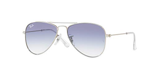 Ray-Ban Rj9506S Gafas de Sol, Silver, 52 Unisex-niños