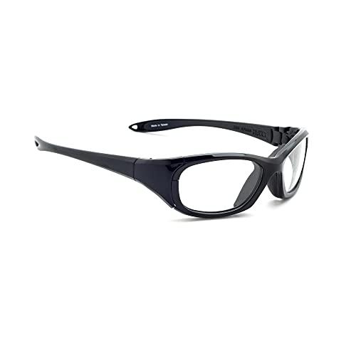 Gafas de radiación modelo MX30, protección de rayos Xray, gafas de plomo en negro