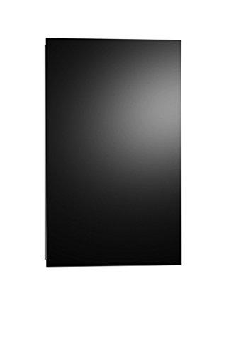 AEG Haustechnik AEG Glasheizung GH 300 S, 0.3 kW, wandhängende Strahlungsheizgerät, Glasfront, rahmenlose, steckerfertig, schwarz, 234434, W, 230 V