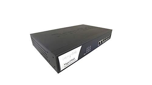 Draytek Vigor2960 Firewall (hardware) – Firewall (1000 Mbit/s, 400 Mbit/s, IEEE IEEE 802.11 IEEE 802.11 IEEE bedrading, ethernet (RJ-45), HTP / △SNMP v1/v2, PPTP/L2TP)