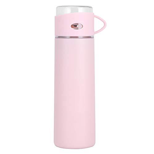 Oumefar Taza Termo a Prueba de Fugas de 500 ml con Tapa de Taza Transparente Taza de vacío de Aislamiento para la Escuela para Halloween