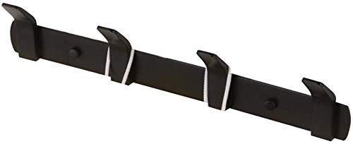 Complete koperen mantel hoed haak wandhouder, overzichtelijk design doek hanger zwart modern wandbehang kledinghaken, 4/5 haken, geschikt voor keuken en garderobe, badkamer, woonkamer, hal