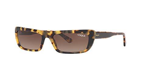 Ray-Ban Damen 0VO5283S Sonnenbrille, Schwarz (Yellow Havana), 54.0