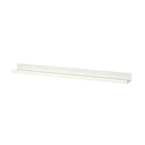 Ikea Mosslanda - Estante para fotos (2 tamaños, tamaño grande, 115 cm), color blanco