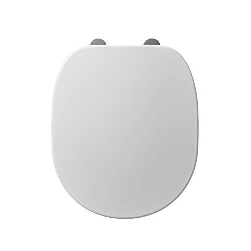 Ideal Standard E791801Toilettensitz, weißer Kunststoff, WC-Sitz und Deckel