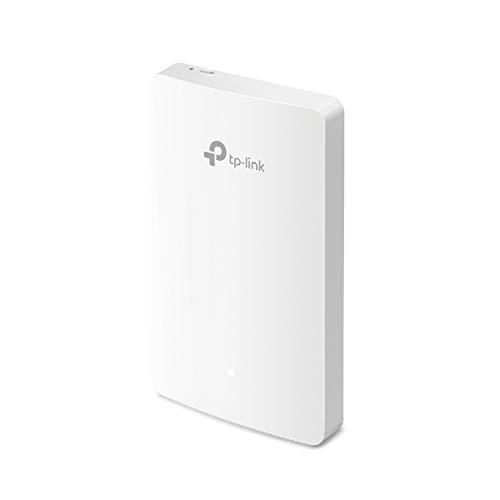 TP-Link EAP235-Wall AC1200 WLAN Gigabit Accesspoint zur Wandmontage (WLAN-Geschwindigkeit bis zu 1167Mbit/s, Omada SDN, zentrales Management, einfache Installation, 4xGigabit LAN Ports)weiß