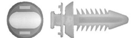 Popular Auto Parts Pap 50 PCS GM Truck Door Panel Clips Retainers GM#15545202 & Strong Like Original OEM