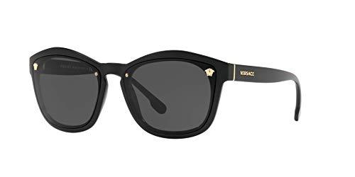 Versace 0VE4350 Gafas de sol, Black, 56 para Mujer