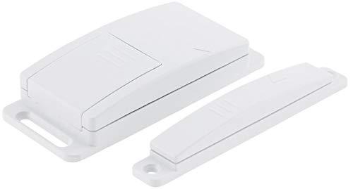 Funk Magnetkontakt Schalter für Fenster Türen Universal Funk-Schalter für kabellose Steuerung von Belüftung Abluft Kamin Ofen Lampen Leuchten