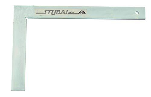 Stubai 263003 Escuadra de cerrajero metálica sin tacón (200 mm) 200mm