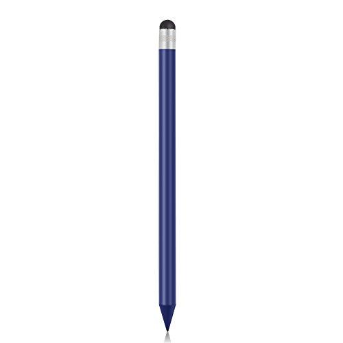 Penna Stilo, Matita Stilo Touch Screen Capacitivo di Ricambio con Testa in Gomma Morbida, Penna Stilo Universale per Telefono Tablet PC Computer Pad(Blu)