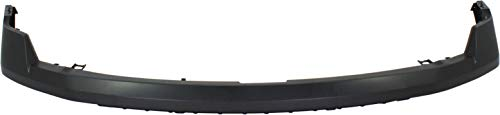 Evan-Fischer Front Bumper Cover Compatible with 2009-2013 Ford F-150 Upper...