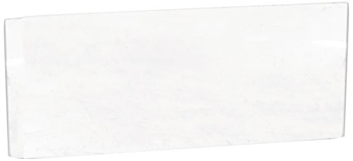 Technical Glass Products 1029OQKXUCR Fused Quartz Microscope Slides, 3' Length x 1' Width x 1 mm Thickness (Pack of 5)