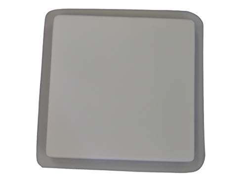 16in Plain Smooth Square Stepping Stone Concrete Plaster Mold 2037