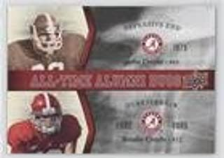 John Croyle; Brodie Croyle (Football Card) 2012 Upper Deck University of Alabama - All-Time Alumni Duos #ATAD-CC