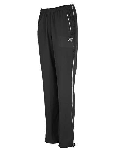 TAO Sportswear Pantalon de Sport Respirant pour Femme, Noir, Taille 34