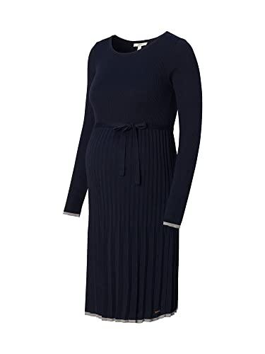 Esprit Maternity Dress Knit LS Kleid, Night Sky Blue-485, S para Mujer