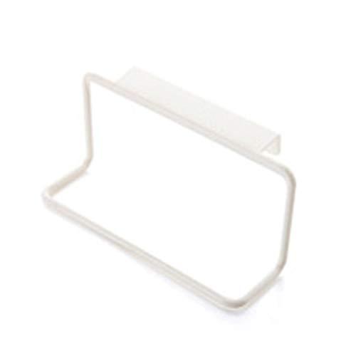 Toallero de plástico para colgar toallas, multifunción, armario, puerta trasera, accesorios de cocina, organizador de almacenamiento para el hogar, color blanco