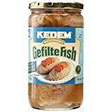 Kedem Gourmet Gefilte Fish No MSG Gluten Free 24 Oz. Pack Of 3.